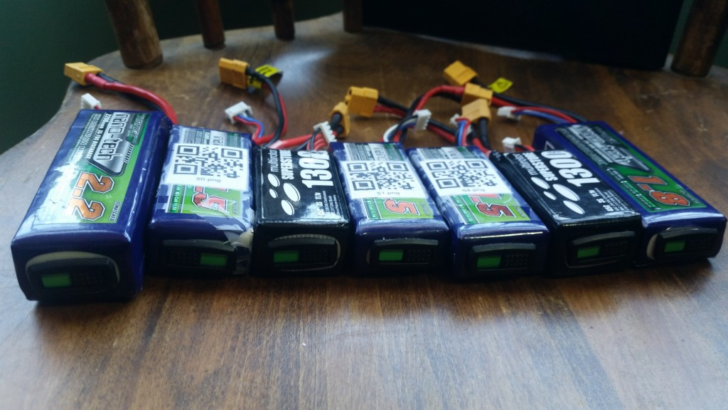 My current batteries.