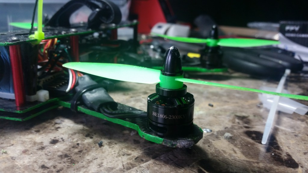 DYS BE 1806, 2300KV Motors