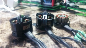 Bad Bearing DYS BE 1806 2300KV