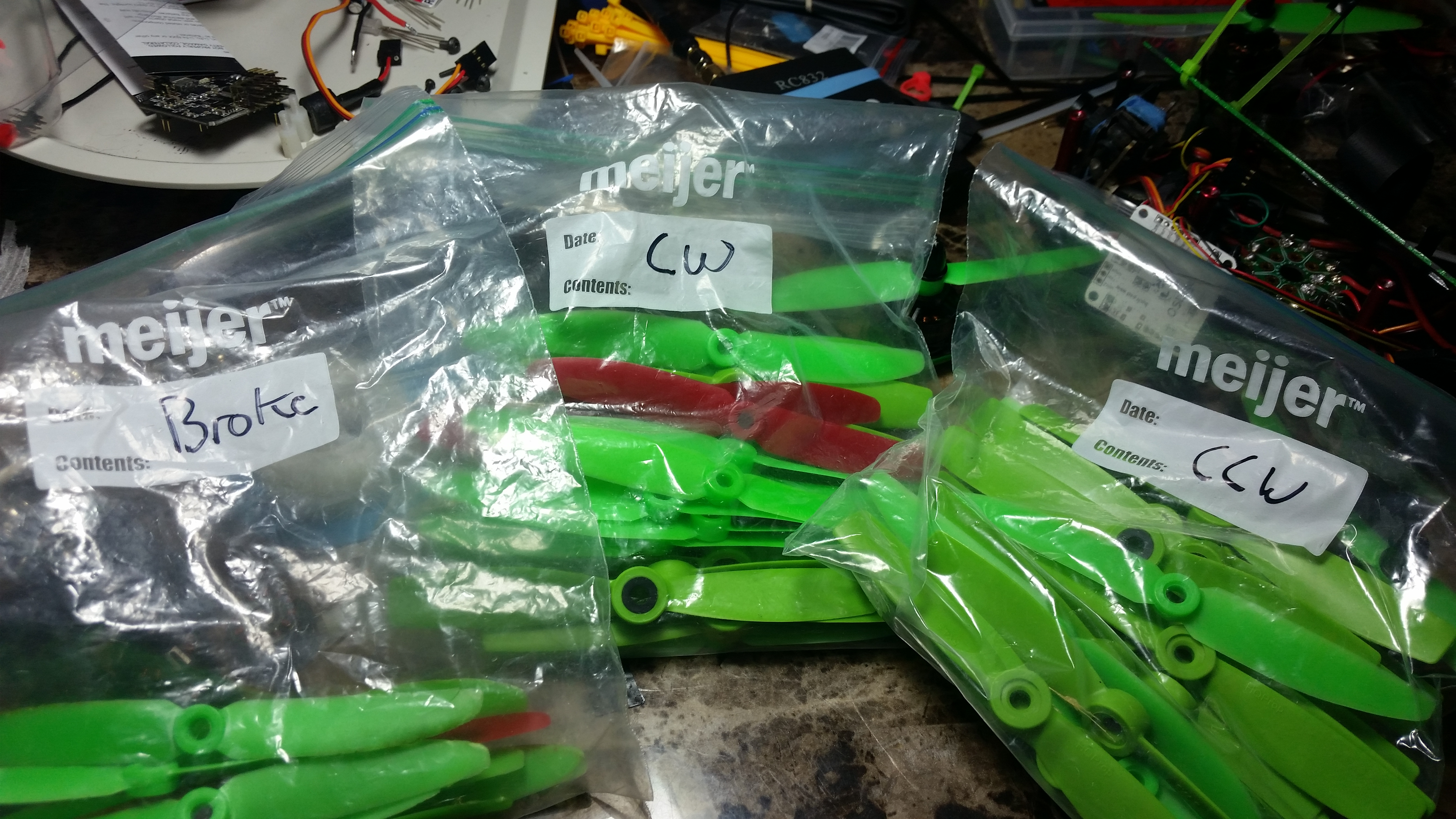 the green machine parts