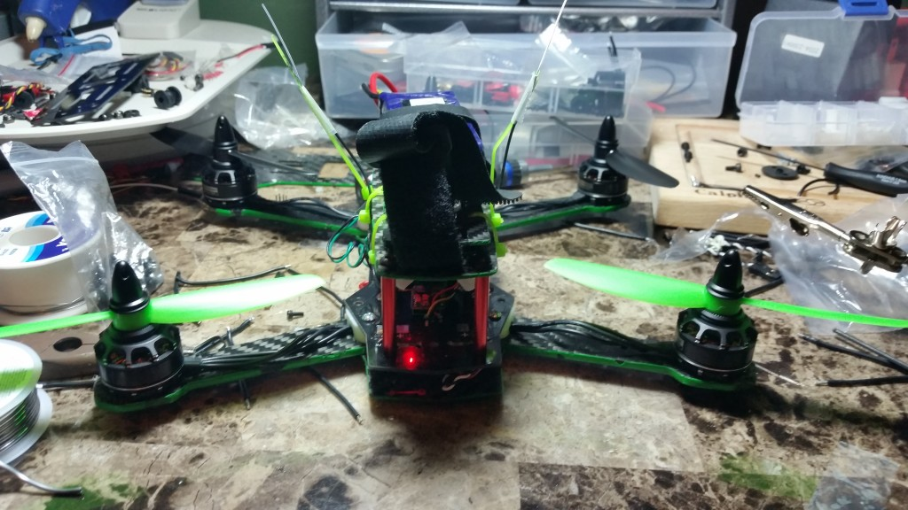 Front View -- Didn't install FPV Yet