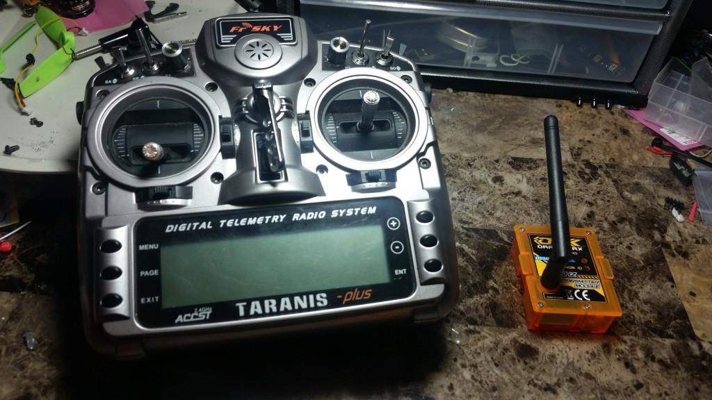 FRSky Taranis and Orange Module for DSM2.