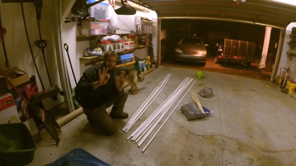 10 feet PVC piping